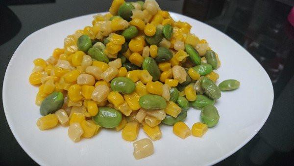 快炒毛豆玉米