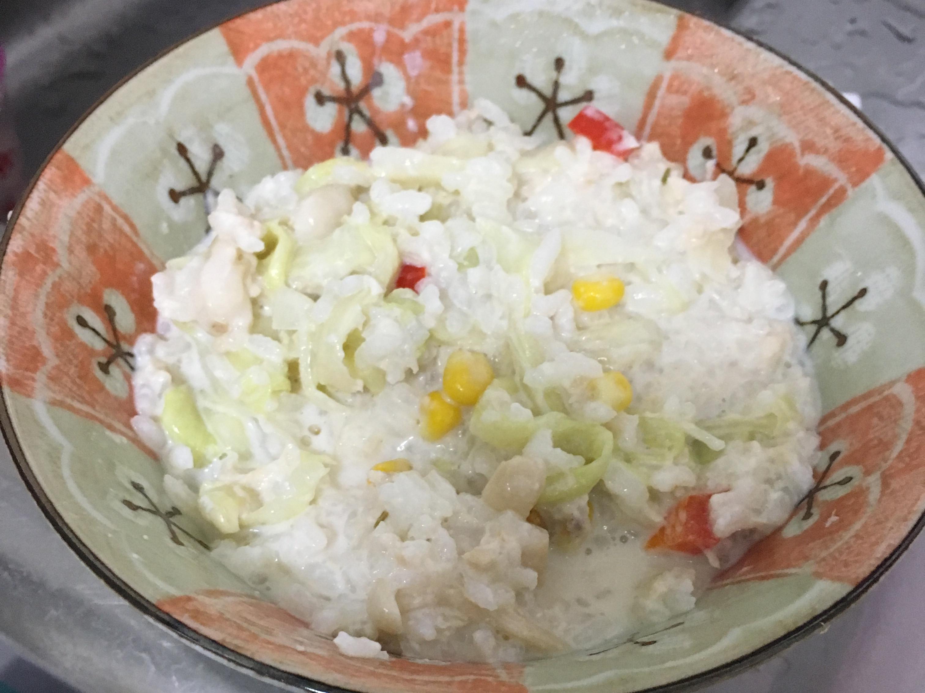 奶油鮪魚燉飯