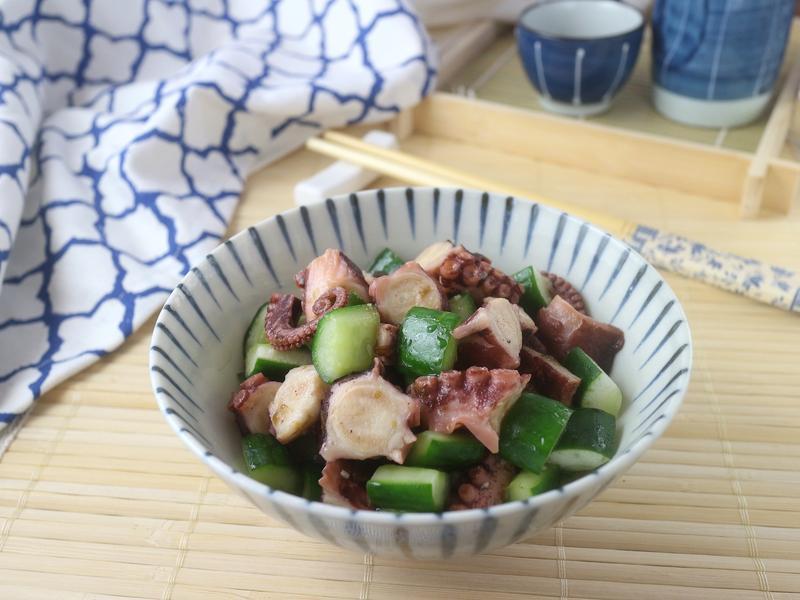 日式醋章魚