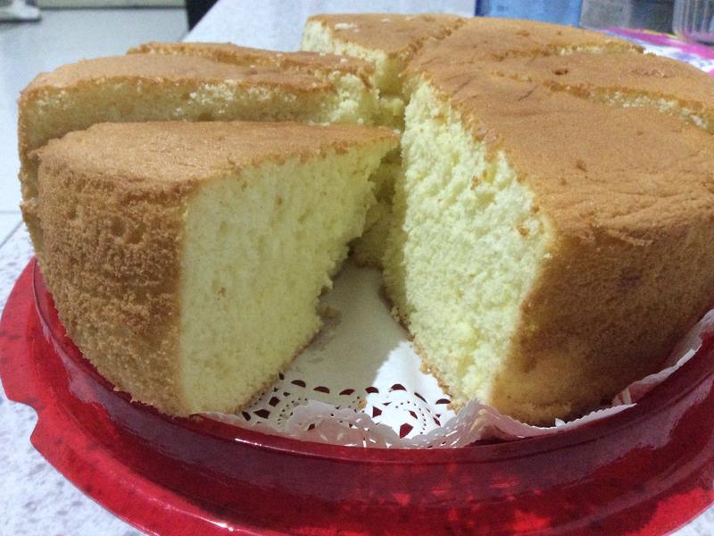 免食譜-用百分比做海綿蛋糕