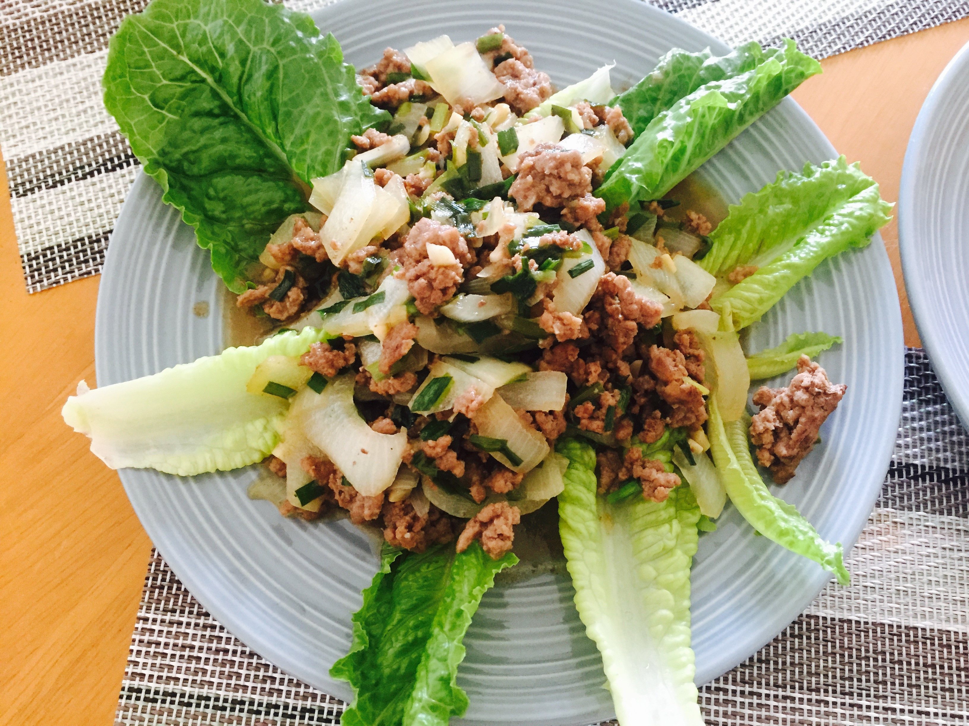 洋蔥韭菜炒肉