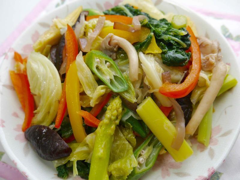 蒜香什錦鮮蔬