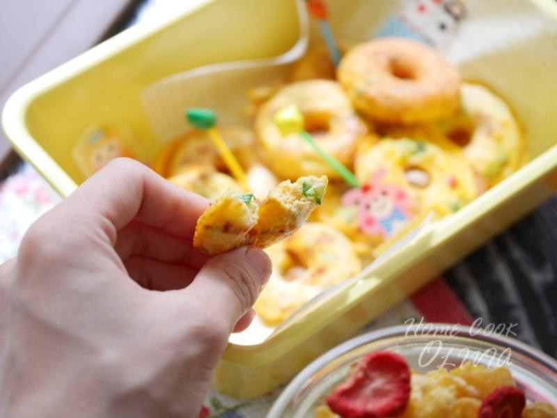 Olivia♥蔬菜烘蛋甜甜圈