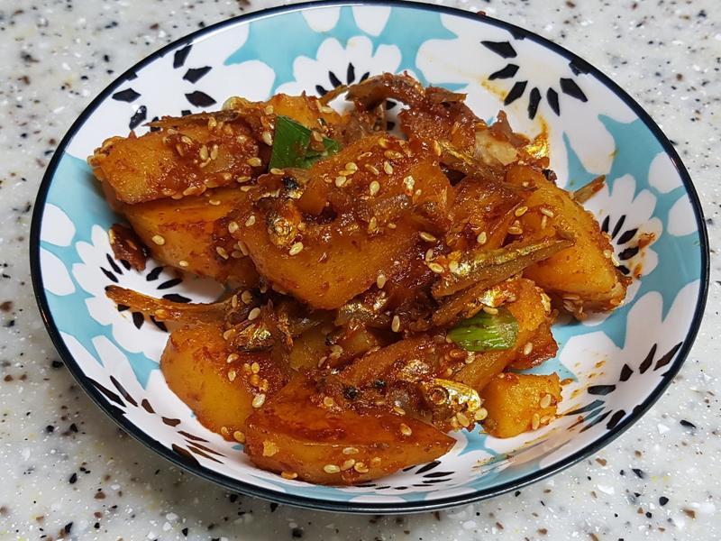 (韓式) 醬燒馬鈴薯 감자조림