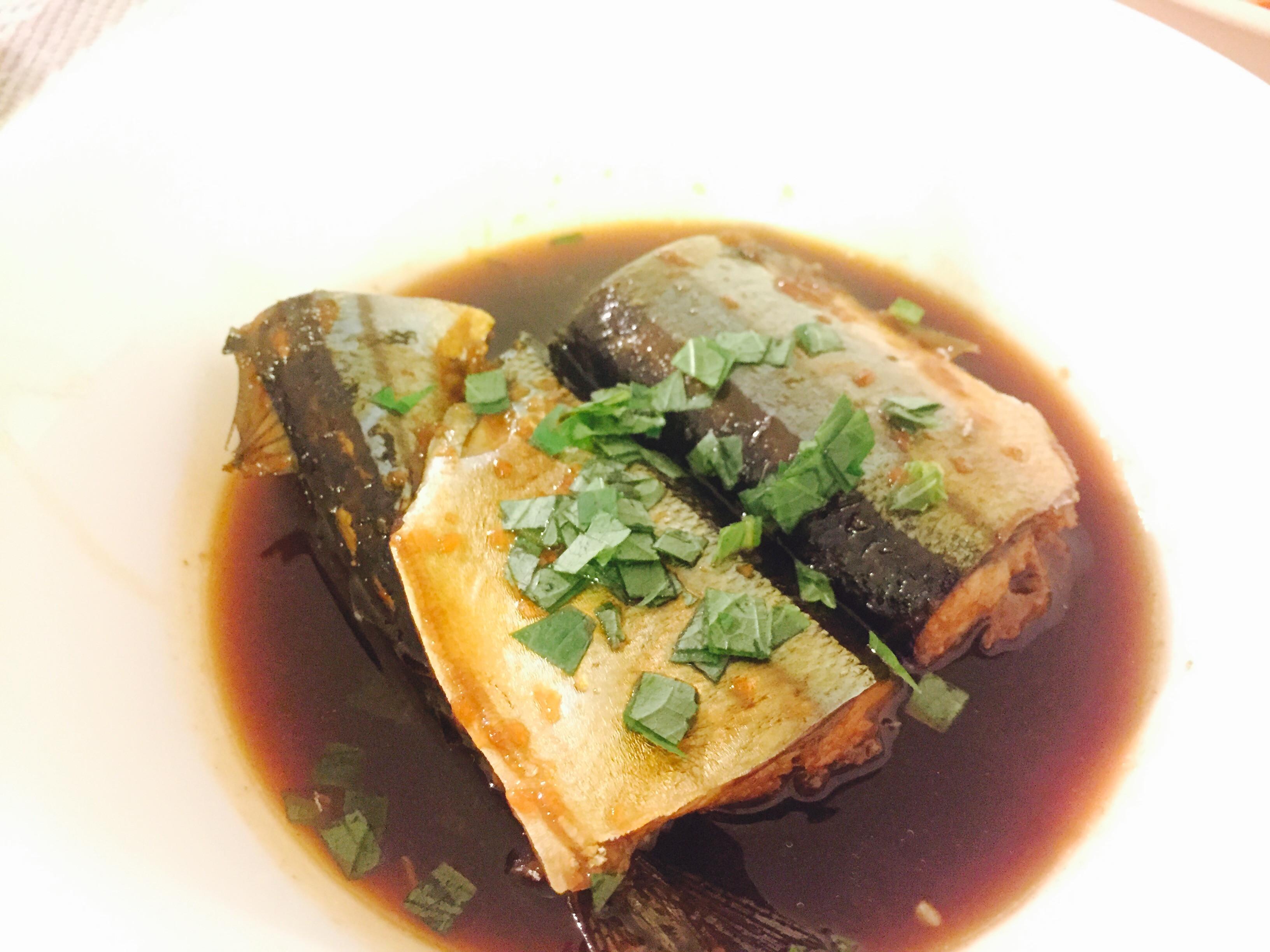 薑汁滷秋刀魚(+秋刀魚處理技巧)