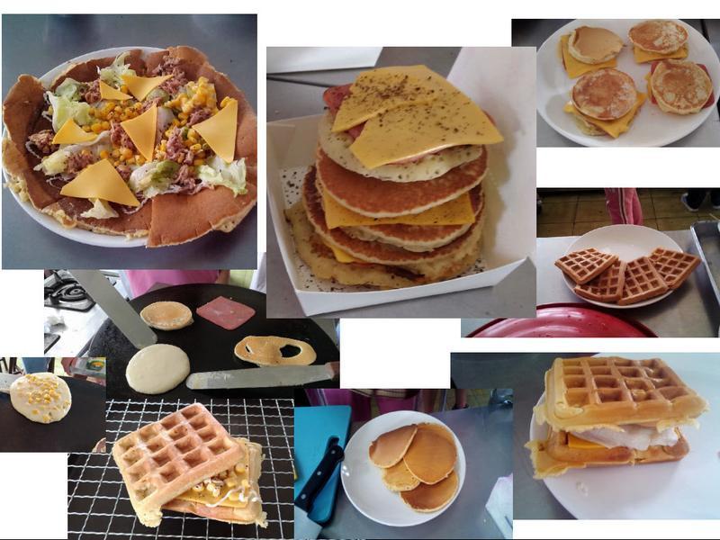 鬆餅 pancake & waffle