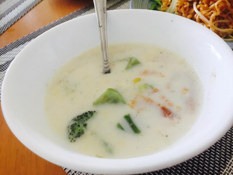 牛奶起司玉米濃湯