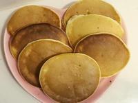 蘋果牛奶鬆餅(無泡打粉、平底鍋料理)