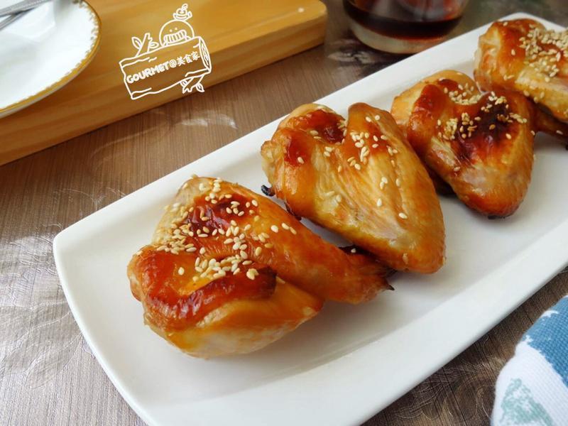 糖蜜烤雞翅(簡單三步驟)