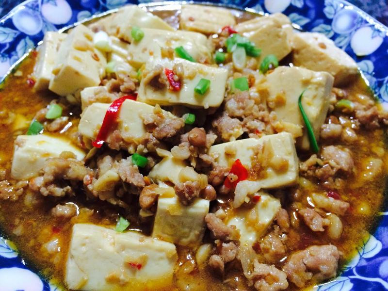 麻婆豆腐-簡易版