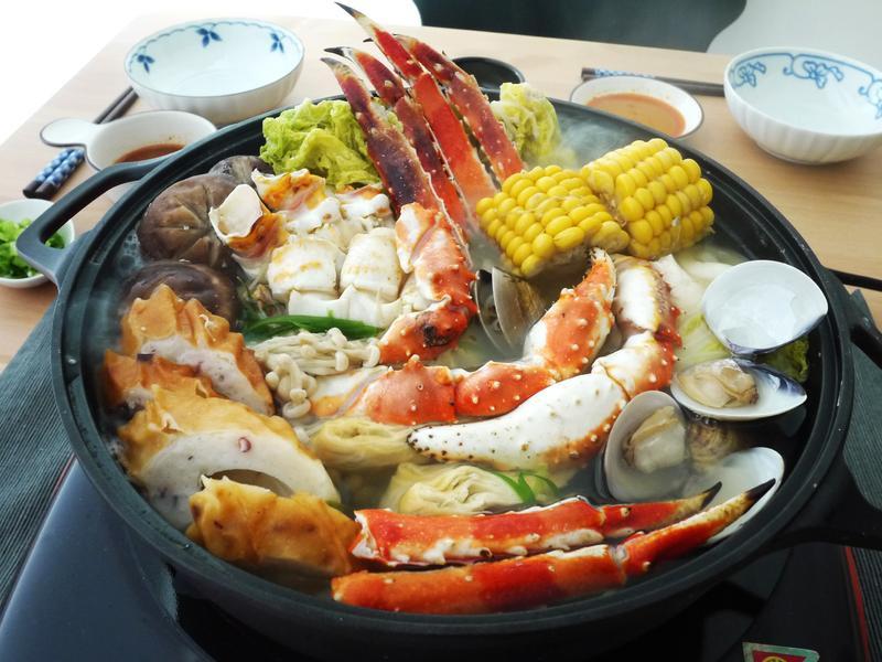 鱈場蟹昆布鍋(附DIY湯頭)