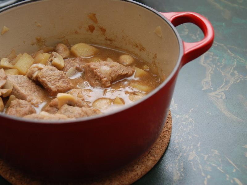 馬鈴薯燉肉+南瓜濃湯