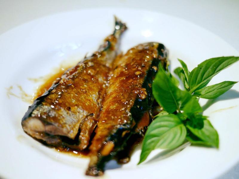 味噌醬燒秋刀魚