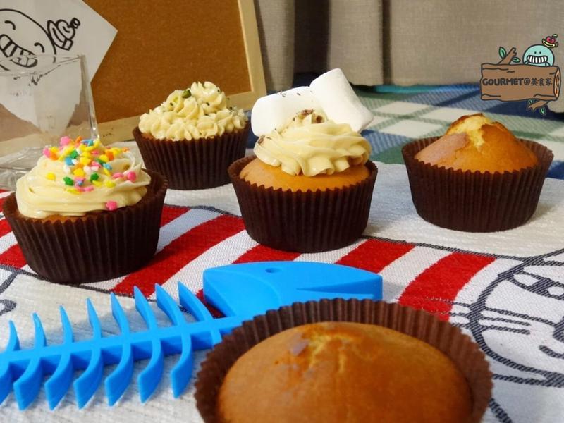 糖蜜杯子蛋糕(簡單五食材)