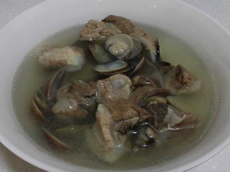 文蛤排骨湯