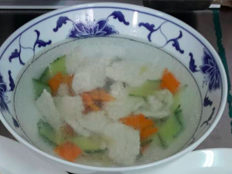 蛋衣雞片湯