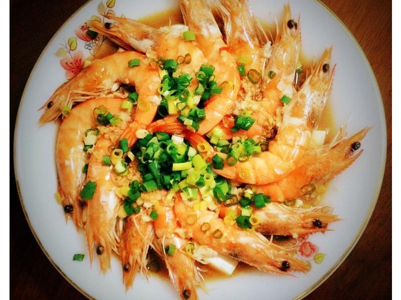 清蒸豆腐蝦