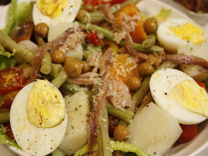 南法經典尼斯沙拉Niçoise salad(簡易版)