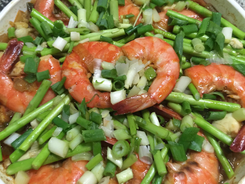 鮮蝦豆腐粉絲煲