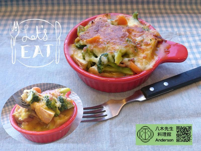 南法鄉村焗烤貝果《金寶湯》
