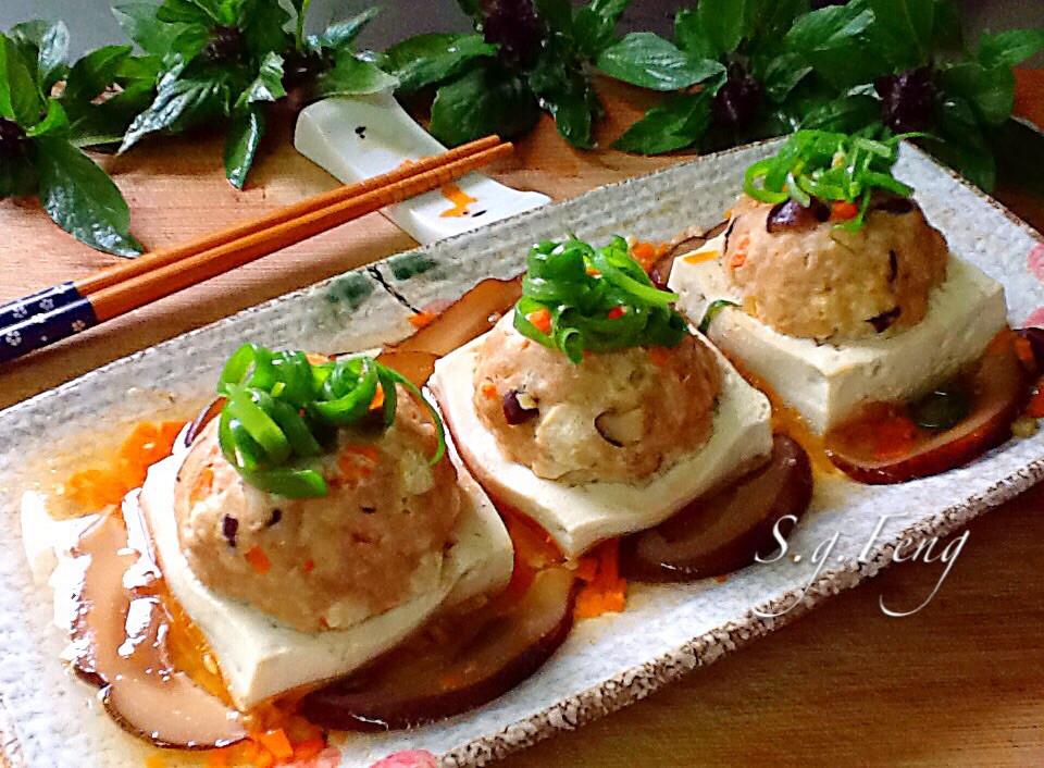 香菇豆腐鑲肉
