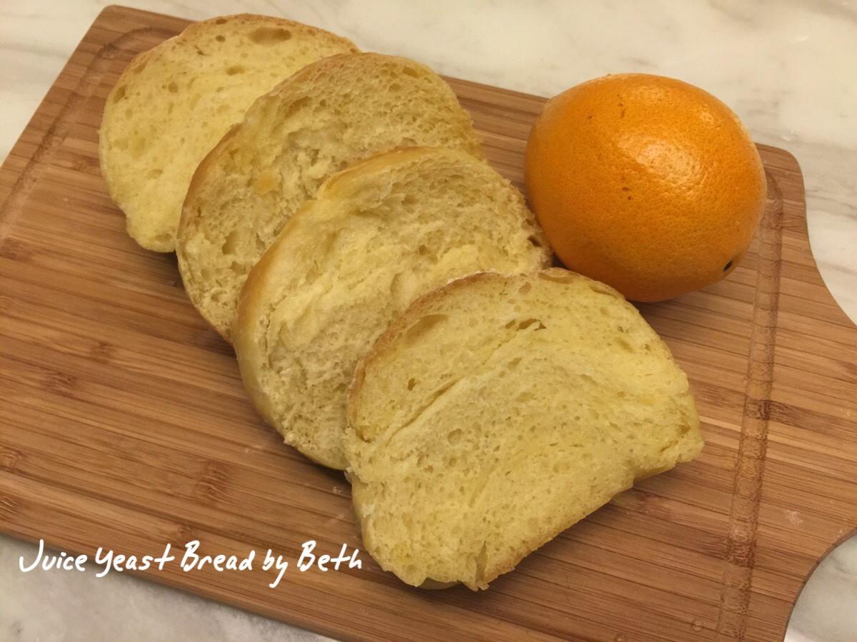 岡本智美的果汁酵母麵包 - 柳橙汁版