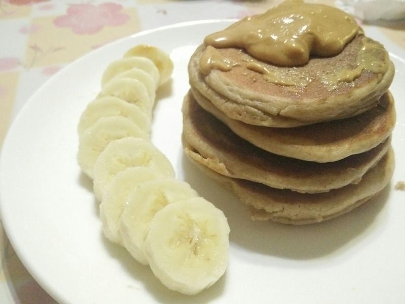 全麥香蕉乳清鬆餅