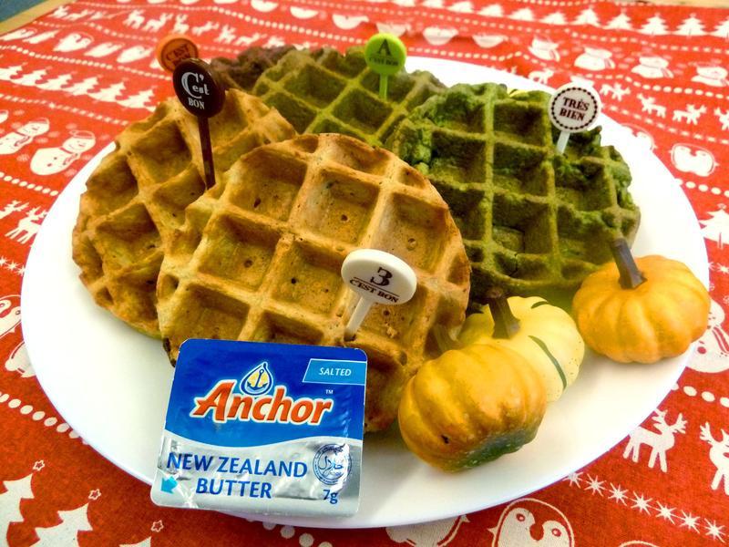 《無糖無麵粉》比利時烈日鬆餅~外酥內軟