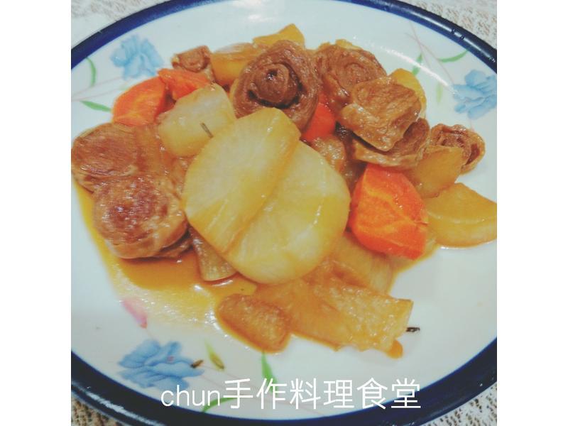 迷迭香滷蘿蔔