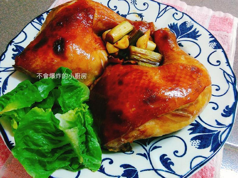 簡易蜂蜜烤雞腿