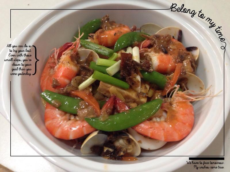 XO醬海鮮豆腐鮮蔬煲