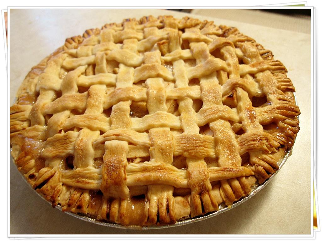 【甜牙齒】烤了還是脆的蘋果派 Cinnamon Apple Pie