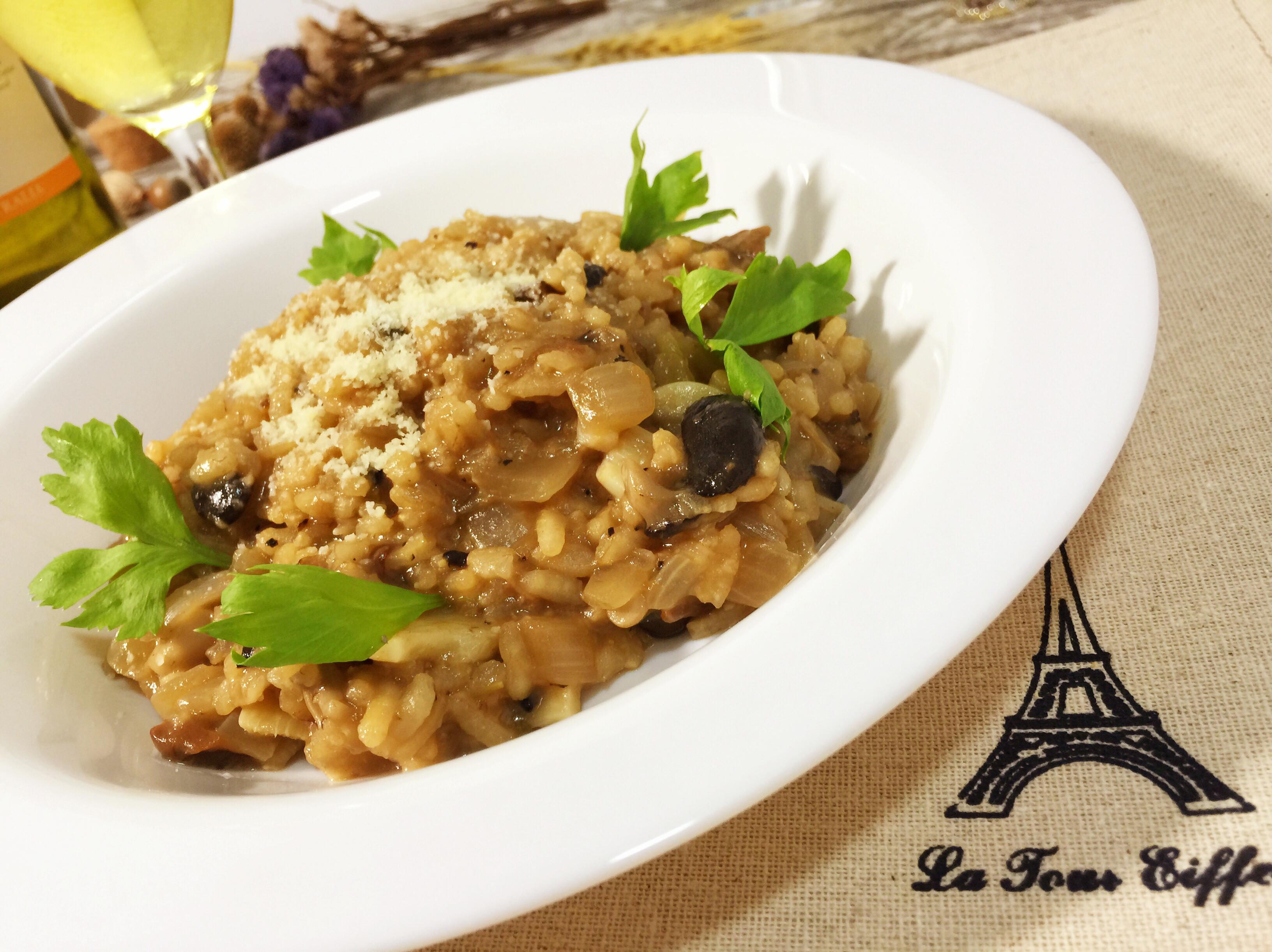 義大利蕈菇燉飯