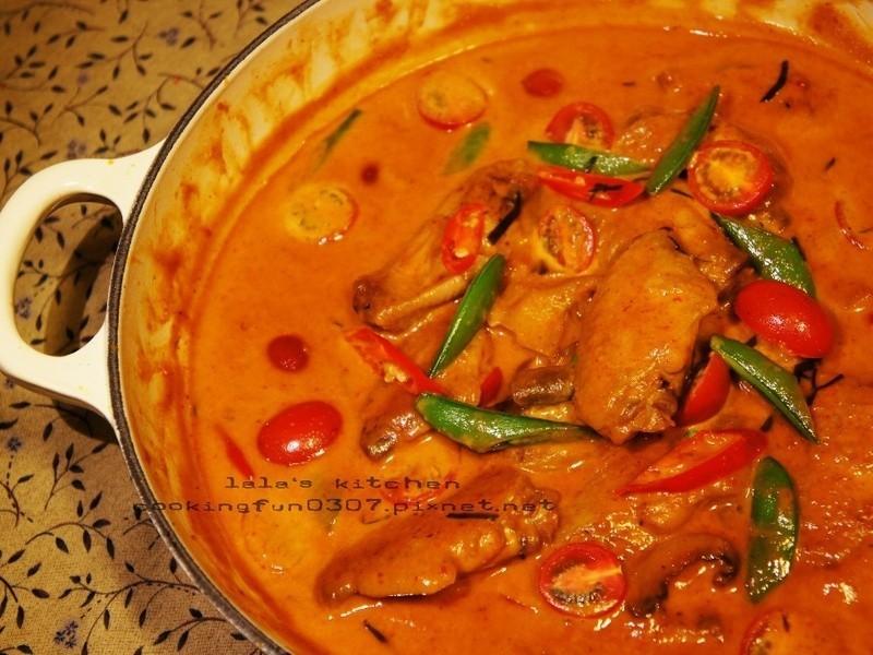 泰式紅咖哩雞翅