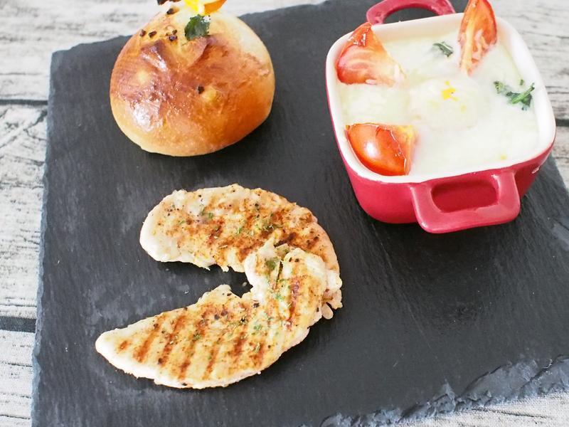 烤雞胸肉(保證多汁不會乾乾的)