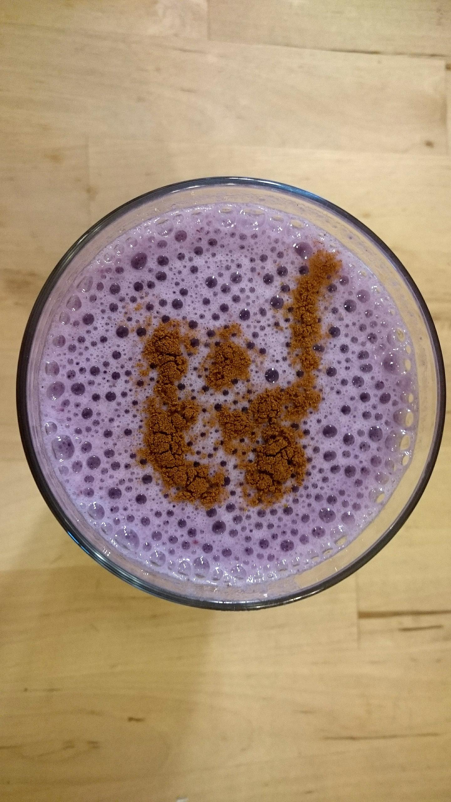 紫薯拿鐵( 不含咖啡因)