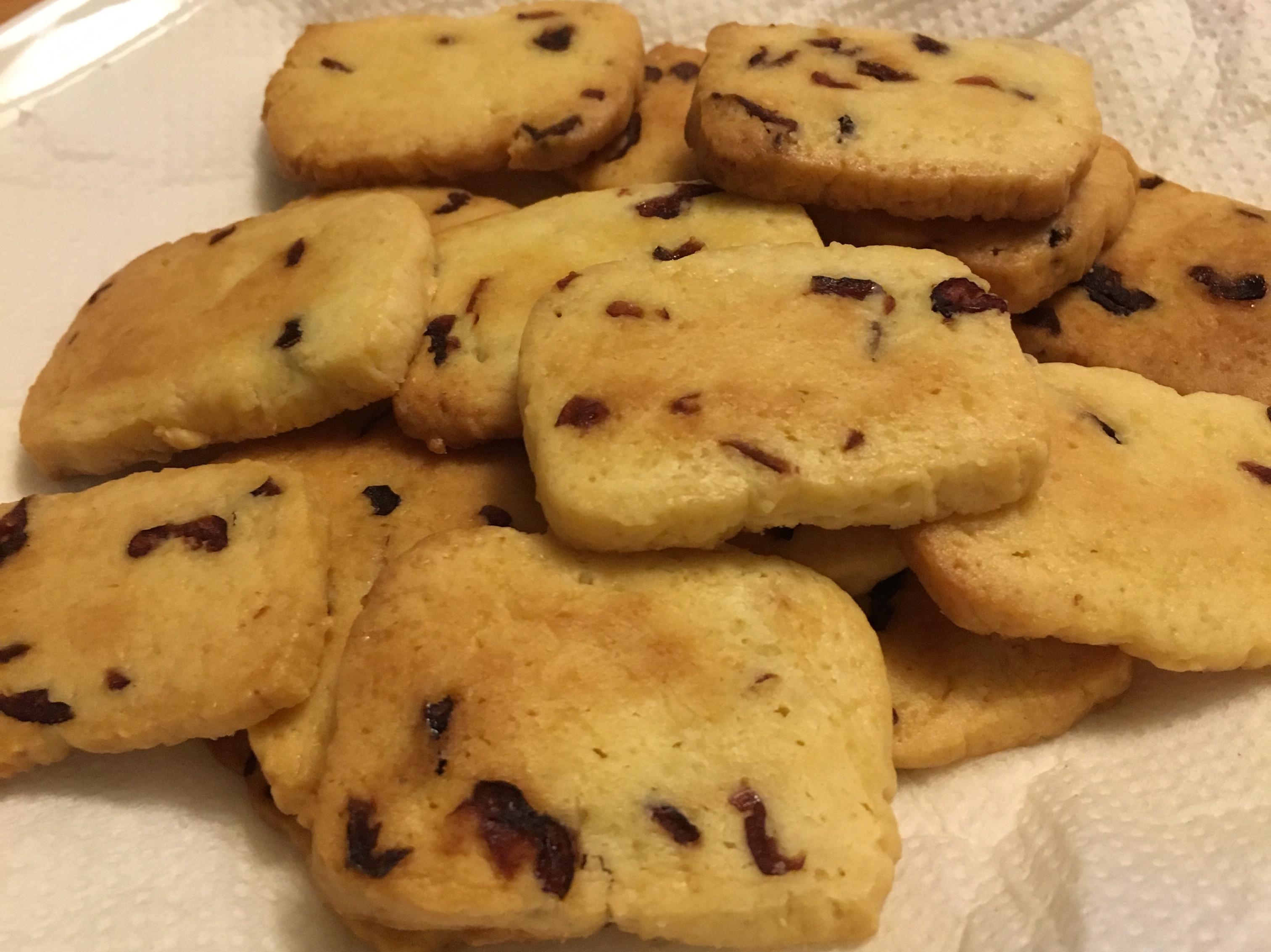 手工蔓越莓餅乾