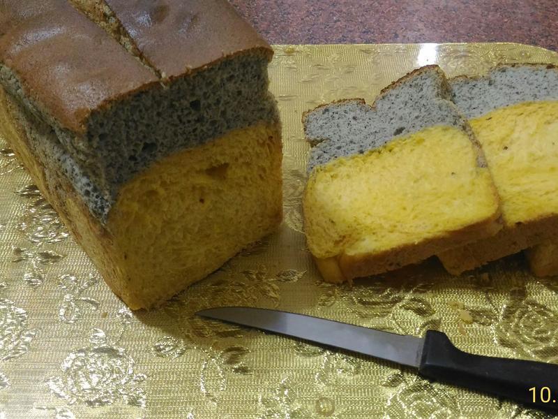 🎃🎃🎃芝麻南瓜蛋糕吐司🍞🍞🍞