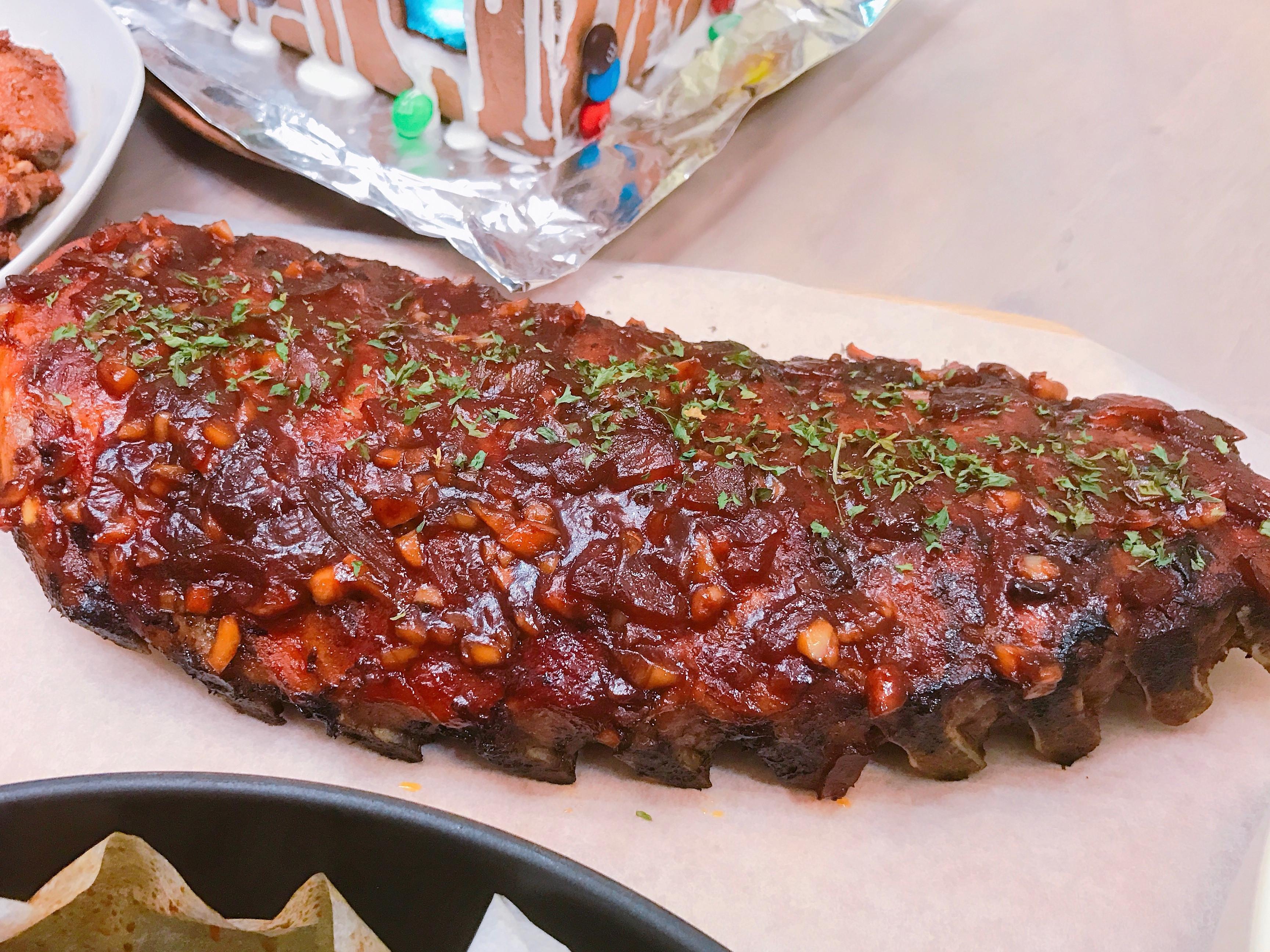 美式烤豬肋骨~ 附美式燒烤醬做法