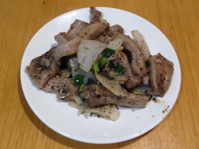 黑胡椒豬肉山藥(無粉版)