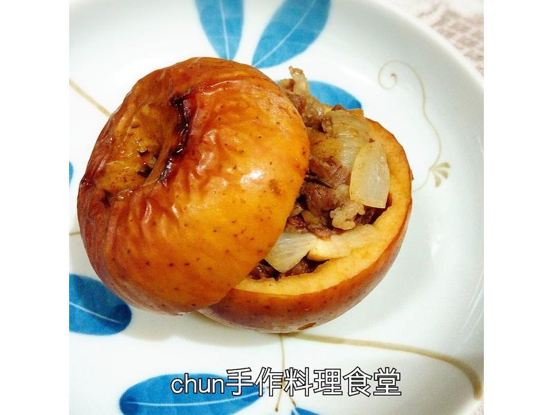 迷迭香羊肉蘋果盅