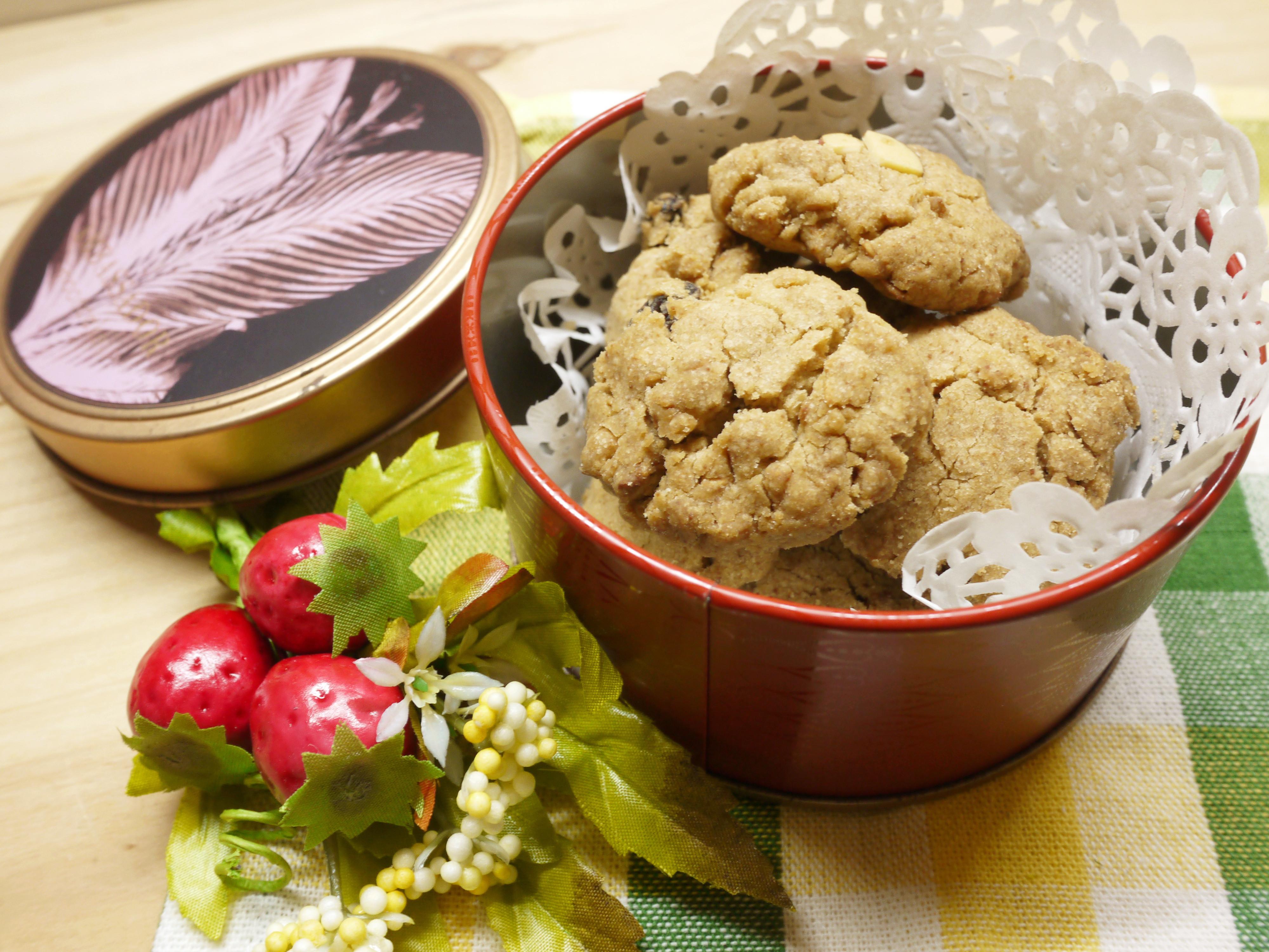 三種材料做【黑糖酥餅】-免奶油免模型