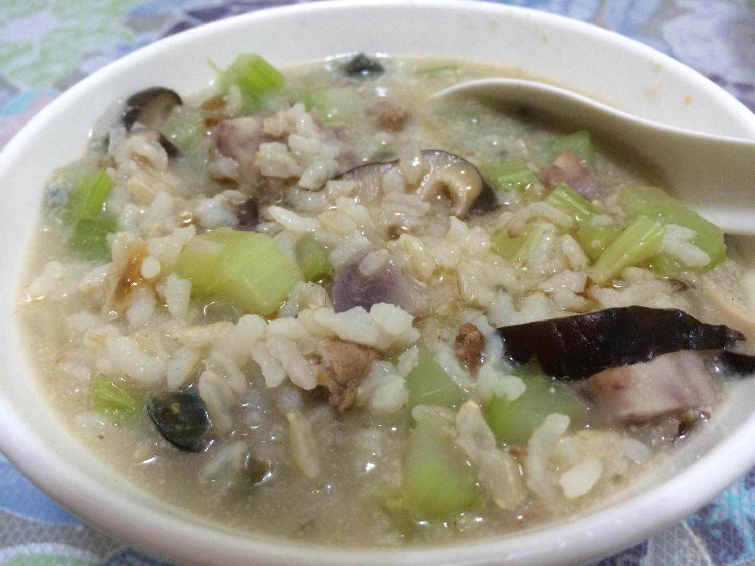 香芹皮芋粥