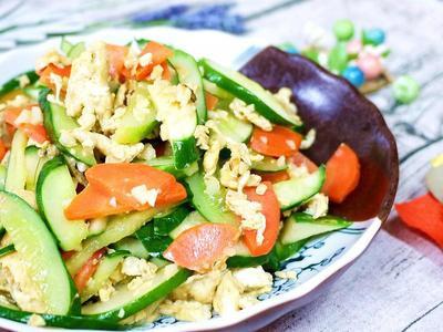 蛋炒小黃瓜