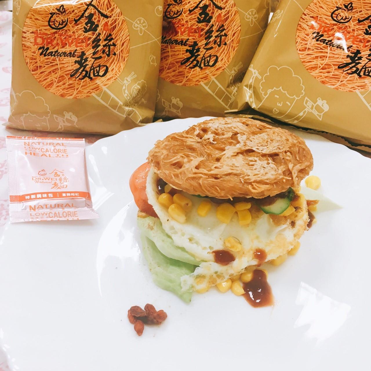 創意金絲餅漢堡-蛋奶素