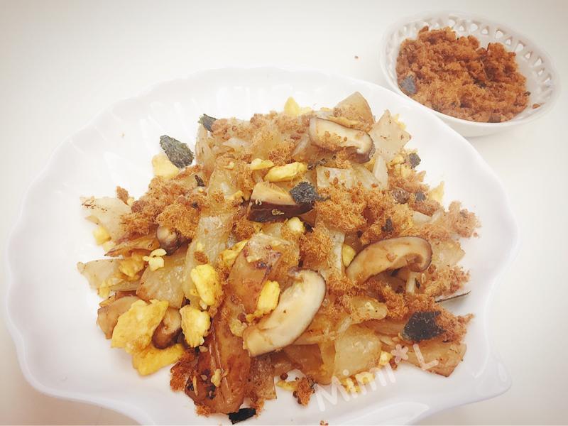 香菇蛋炒餅
