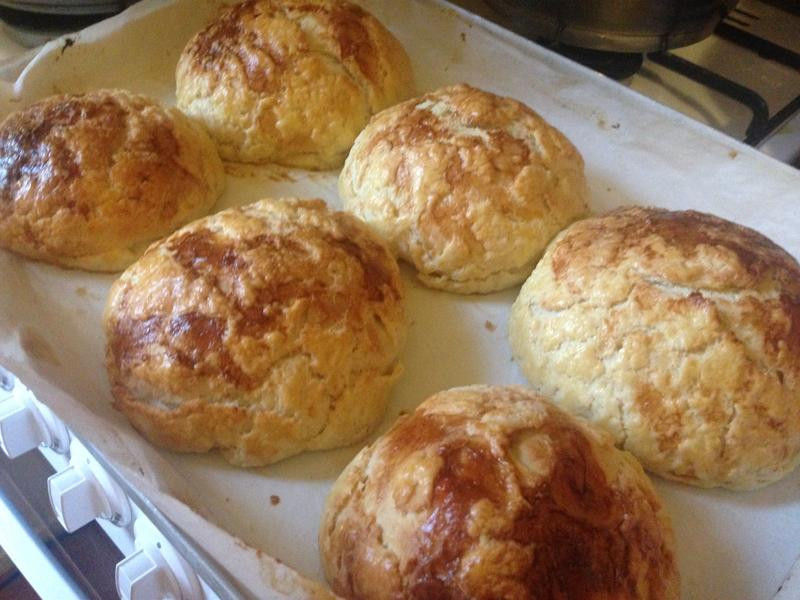 麵包11---麵包機做菠蘿麵包