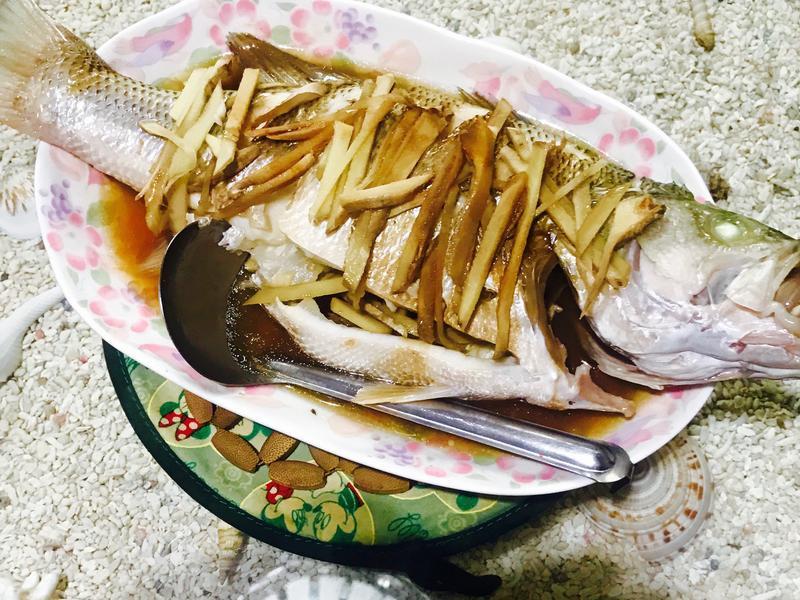 真男人料理-海派直接蒸魚
