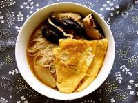 麻油湯麵線