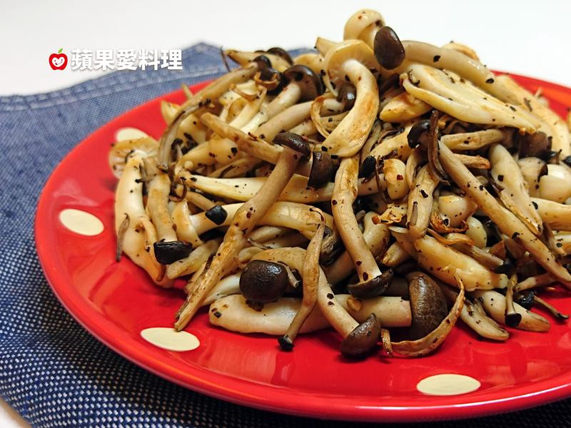 馬告菇菇(無油、無鹽。5分鐘)
